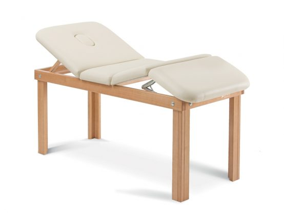 DENEB series wooden couches for thera py and examination