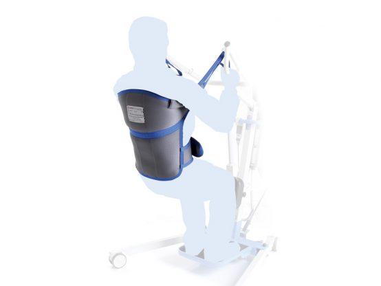 Slings for patient stand up lifts