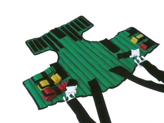Spinal Immobilizer - Antitrauma stretcher - Head immobilizer