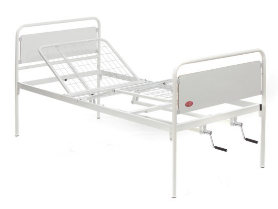 Hospital beds with 1-2 Crank