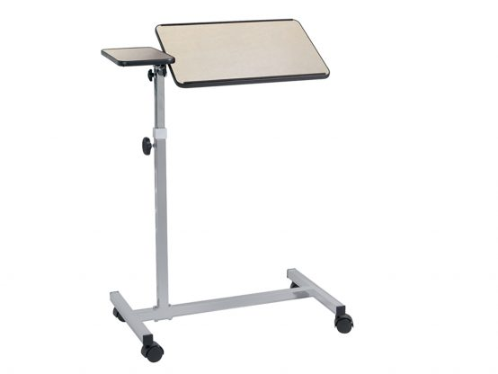 Over bed tables with casters